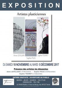 Affiche et tract Expo novembre 2017