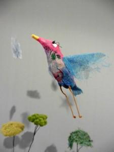 """Oiseau bleu (détail de """"C'est moi le plus fort !)"""
